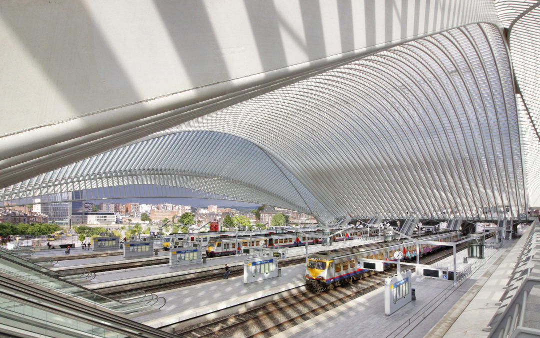 Question au Ministre Bellot concernant le parking de la gare des Guillemins