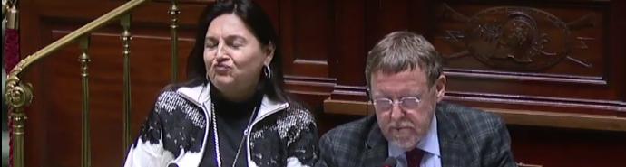 Question à Marghem sur le manque d'ambition climatique au Conseil européen
