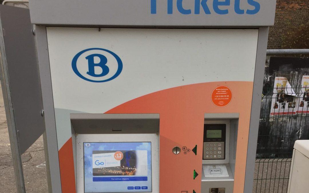 Question à François Bellot concernant l'accessibilité des automates de la SNCB aux personnes en chaise ou de petite taille
