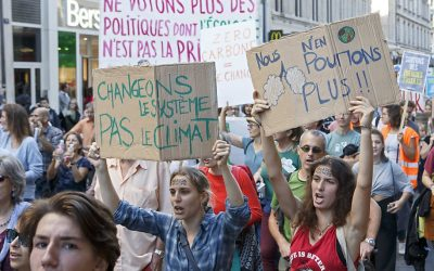 Question à la Ministre Marghem sur la COP 26 et le plan de redéploiement post-confinement