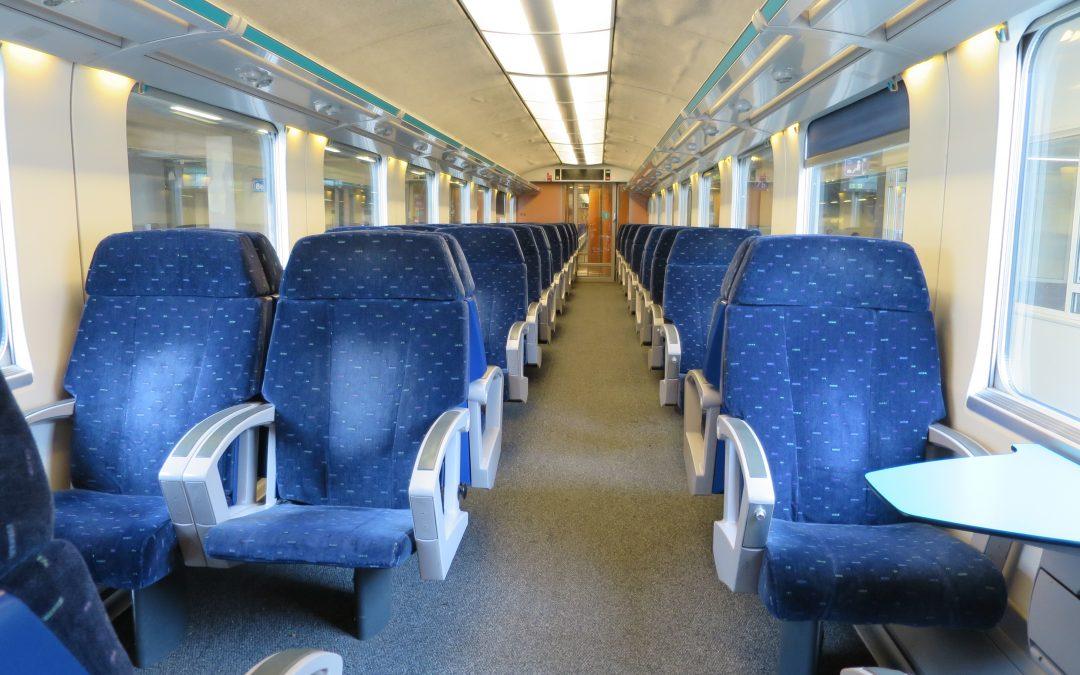 Question au Ministre Bellot sur le respect de la distanciation physique et l'accès à la 1ère classe dans les trains