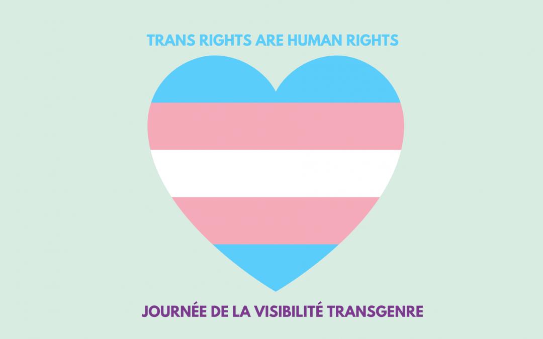 31 mars : Journée Internationale de la visibilité Transgenre