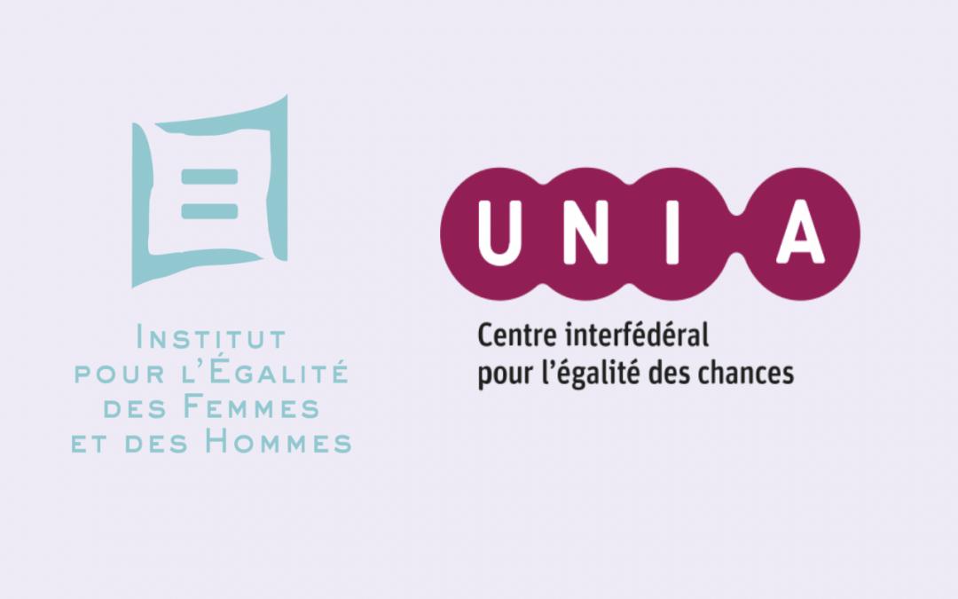 12 emplois supplémentaires pour Unia et l'Institut pour l'Égalité des Femmes et des Hommes pour lutter contre les discriminations.