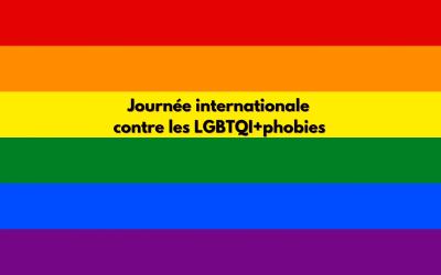 Journée internationale contre les LGBTQI+phobies – Carte Blanche signée par 14 pays européens